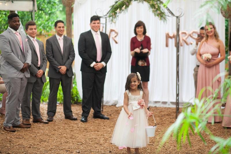 Wedding at Harmony Gardens DeLeon Springs Florida