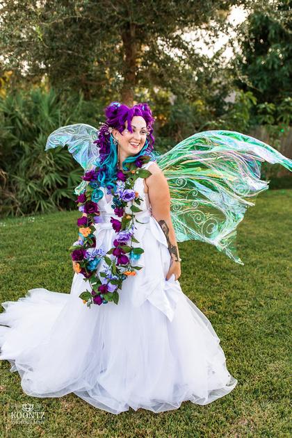"""Halloween wedding"", ""Costume Wedding"", ""Fantasy Wedding"", ""DIY wedding"", ""Backyard wedding"", ""Do it yourself wedding decor"", ""DIY wedding decor"", ""Fairy wedding"", ""Fae wedding"""