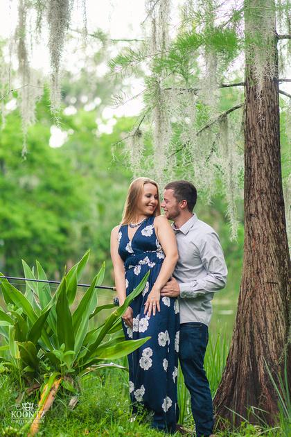 """""""Mead Garden"""", """"Mead Botanical Garden"""", """"Engagement photos"""", """"Engagement photos in Orlando"""", """"Florida engagement photographer"""""""