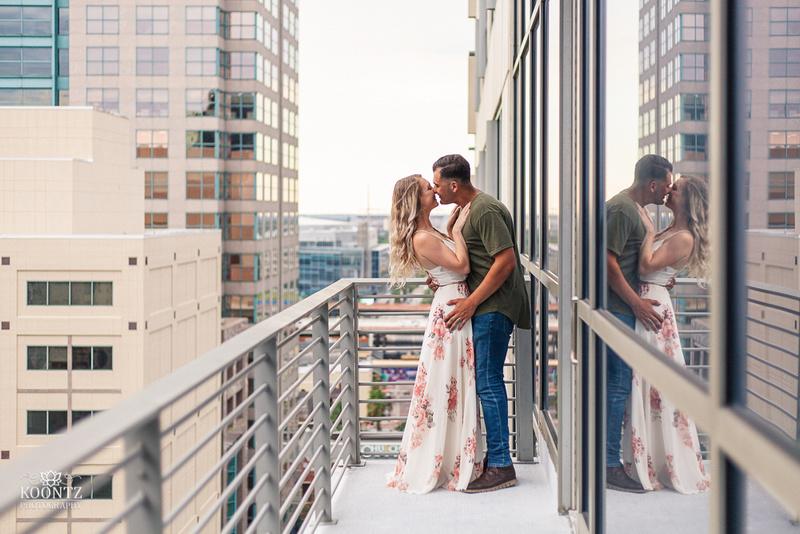 """Orchid Garden"", ""The Ballroom on Church Street"", ""Engagement photos in orlando"", ""Orlando engagement"""
