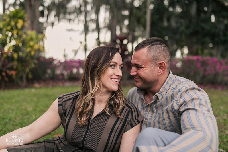 """Kraft Azalea Gardens"", ""Kraft Gardens"", ""Engagement photos at Kraft Azalea"", ""Orlando Engagement photos"", ""Orlando engagement photographer"", ""Pillars near Orlando"""