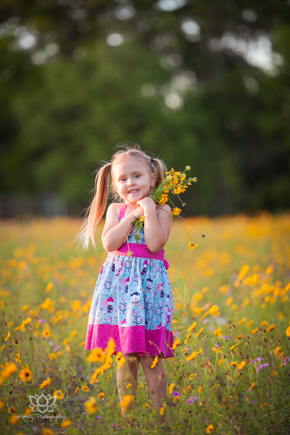 """DeLand Photographer"" ""Family Photographer in DeLand"" wildflowers"
