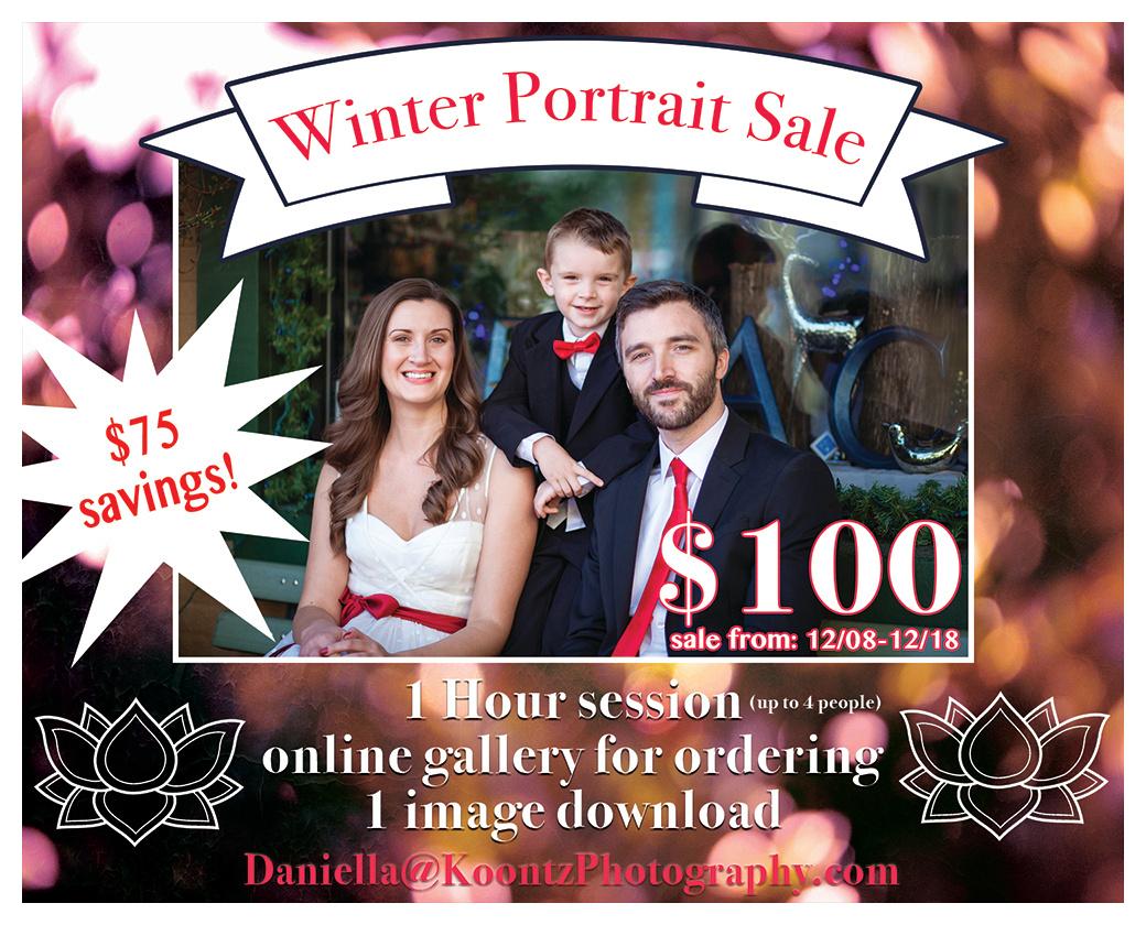 """Photography sale"", ""Photography portrait sale"", ""holiday sale"", ""winter sale"""