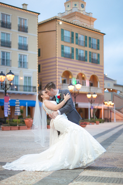 Loews Portofino Bay, Portofino Bay Hotel, Portofino Bay Wedding, Orlando wedding photographer, Orlando wedding photography